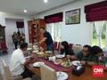 Ahok Temui Ketua DPRD DKI Jakarta Prasetio di Kediamannya