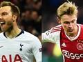 Duel Kunci Tottenham vs Ajax: Eriksen Lawan De Jong