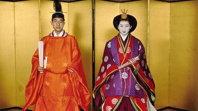 Sokutai dan Junihitoe, Pakaian Sakral Penobatan Kaisar Jepang