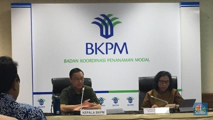Badan Koordinasi Penanaman Modal (BKPM) merilis realisasi investasi pada semester I-2019