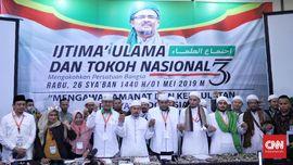 Hasil Ijtimak Ulama 3 Desak KPU-Bawaslu Diskualifikasi Jokowi