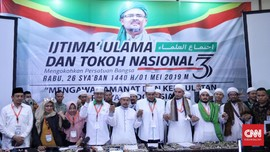 MUI: Ijtimak Ulama III Coret Jokowi Tak Wakili Seluruh Ulama