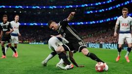 5 Fakta Menarik Setelah Ajax Bungkam Tottenham