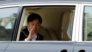 Sedan Mewah dalam Penobatan Kaisar Baru Jepang