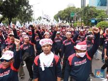 Melihat Kembali Janji Kampanye Jokowi untuk Kaum Buruh