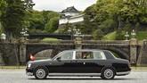 Naruhito resmi naik takhta hari ini setelah sang ayah menyatakan pidato terakhirnya sebagai kaisar kemarin. (Kazuhiro NOGI / AFP)