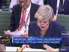 PM May Yakin Brexit Terwujud Sebelum Deadline