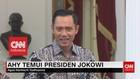 VIDEO: Jokowi Temui AHY 4 Mata di Istana Merdeka