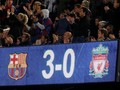 FOTO: Tiga Gol Barcelona Membuat Liverpool Merana