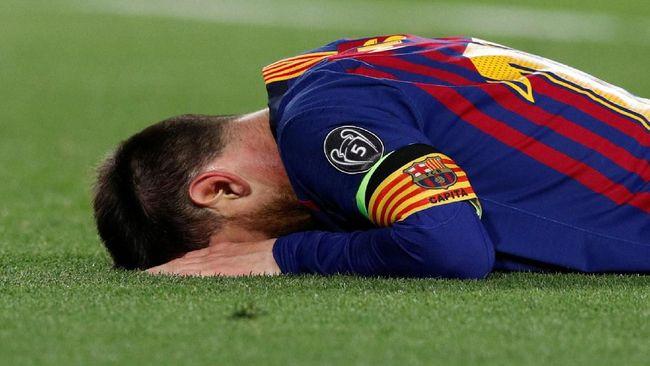 Penyesalan Messi di Balik Kemenangan Telak Barcelona