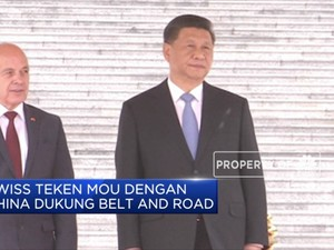 Swiss Teken MOU dengan China Dukung Belt and Road