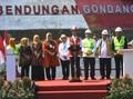 Jokowi Resmikan Bendungan Gondang: Sebagai Sumber Irigasi