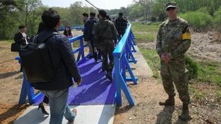 Tur Wisata di Perbatasan Dua Korea Kembali Digelar