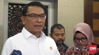 Moeldoko Sebut Ada Upaya Penyelundupan Senjata untuk 22 Mei