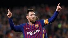 Statistik: Messi Lebih Hebat dari Ronaldo di Usia 32