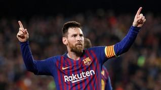 Lionel Messi Jadi Inspirasi Nama Bayi di Catalonia