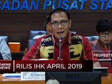 BPS: Inflasi April 2019 0,44%, Masih Terkendali