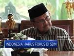 BJ Habibie: Indonesia Harus Fokus pada SDM