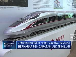 Konsorsium Kereta Cepat Jakarta-Bandung Incar Dana USD 18 M