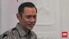 Tanpa Bicara, AHY Tiba di Istana Bogor