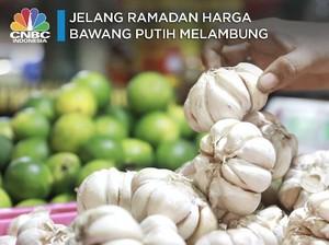 Waduh! Jelang Ramadan Harga Bawang Putih Melambung