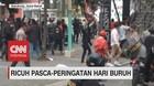 VIDEO: Ricuh Pasca-Peringatan Hari Buruh
