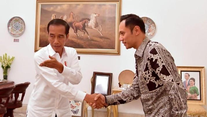 AHY pernah dikabarkan masuk ke dalam kabinet Jokowi-Ma'ruf.