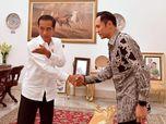 Usai Bertemu Empat Mata, Jokowi: Terima Kasih Mas AHY