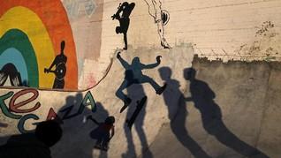 FOTO: Peselancar Jalanan Gaza