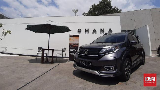 Honda Realistis dengan Desain Baru BR-V