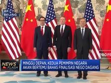 AS - China Mendekati Kesepakatan Damai Dagang