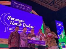 OVO, Grab & Tokopedia Galang Donasi Digital untuk Pendidikan