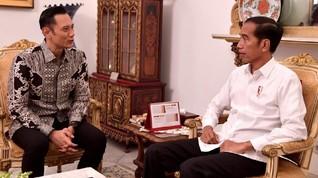 Jokowi Akan Bertemu AHY dan Zulhas di Istana Bogor Hari Ini