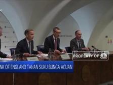 Bank of England Tahan Suku Bunga Acuan
