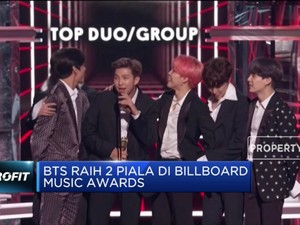 BTS Raih 2 Piala Di Billboard Music Awards