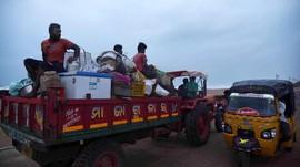 Jelang Topan Fani, India Evakuasi Satu Juta Warga