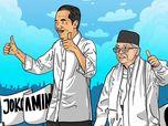 Real Count Sudah 65,4%, Jokowi-Amin Unggul 12,26 Juta Suara