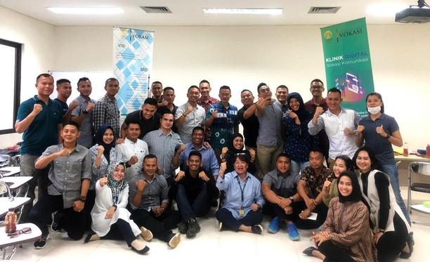 Vokasi UI Latih Strategi Komunikasi Pasukan Garuda yang Bertugas di Afrika