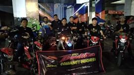 Suzuki Saturday Night Ride di Surabaya