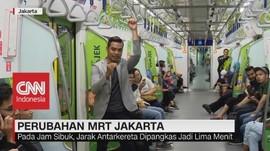 VIDEO: Pelayanan MRT Kini Lebih Baik, Apa Saja?