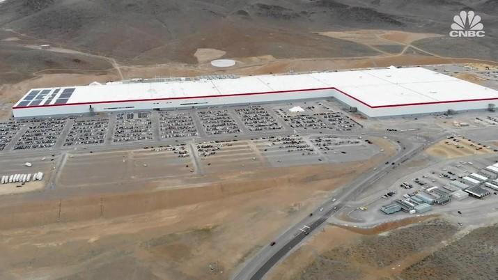 Mengintip Gigafactory, Pabrik Raksasa Mobil Listrik Tesla