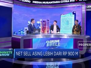 Asing Net Sell Rp 967,33 Miliar di Bursa Saham