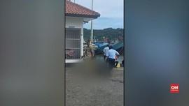 VIDEO: Viral Napi Lapas Nusakambangan Diseret Petugas Lapas