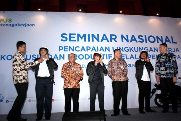 BPJS TK Gelar Seminar Ketenagakerjaan