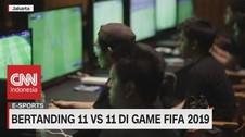VIDEO: Bertanding 11 Vs 11 di Game Fifa 2019