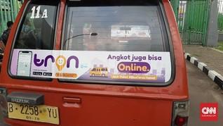 Aplikasi Tron dan Upaya Hapus Stigma Negatif Angkot 'Ngetem'