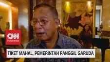 VIDEO: Tiket mahal, Pemerintah Panggil Dirut Garuda