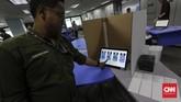 Untuk menggunakan e-Voting, Mendagri Tjahjo Kumolo pun membandingkan dengan India yangmemiliki pemilik hak pilih sekitar 1 miliar yang telah menggunakan teknologi tersebut untuk pemilu. (CNN Indonesia/Adhi Wicaksono)