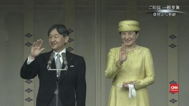 VIDEO: Naruhito Tampil Perdana Sebagai Kaisar Jepang