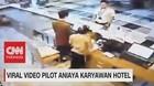 VIDEO: Viral Video Pilot Aniaya Karyawan Hotel